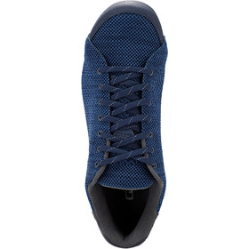 Giro Republic R Knit Schoenen Heren, midnight/blue heather